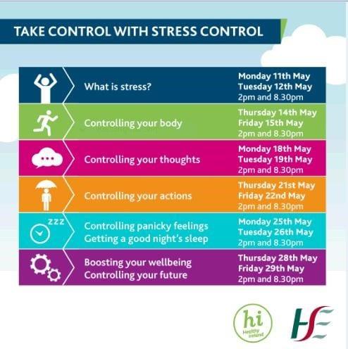 Sláinte:  Tabhair aire duit féin.  Take care of your wellbeing.